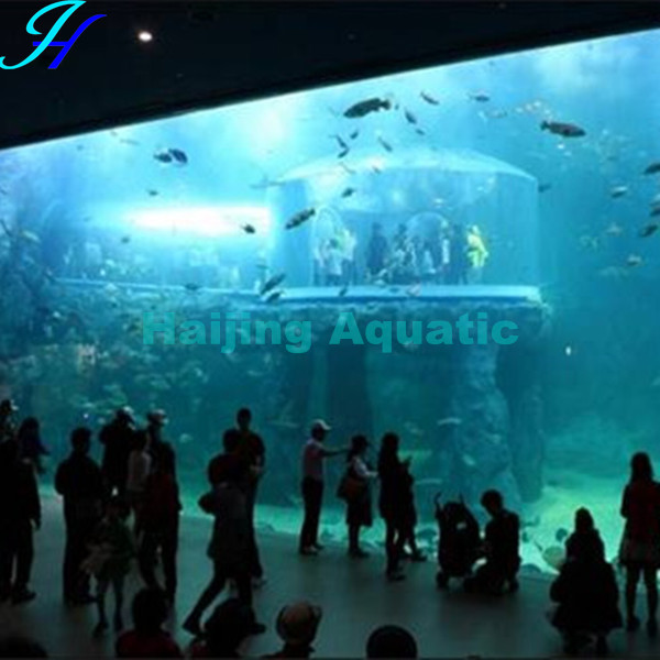 Haijing Big Acrylic Aquarium Jellyfish Tank