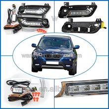 Vinstar high Power Auto X3 LED Lamps Lights DRL for BMW X3 Car Daytime Running Light