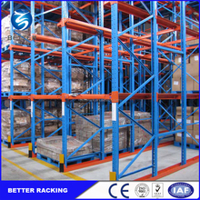 Multi-Level cold room storage pallet rack / Adjustable Type warehouse drive in rack
