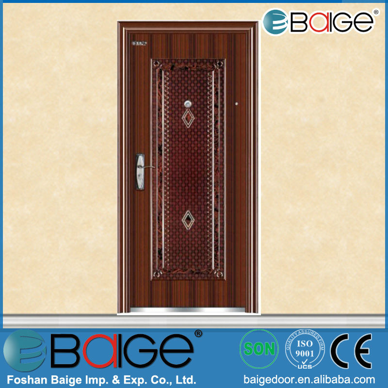 BG-S9023 red security steel storm doors