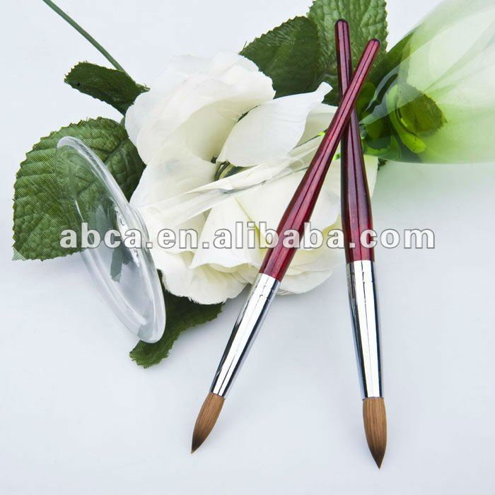 Fashion crystal nail art cosmetic brush