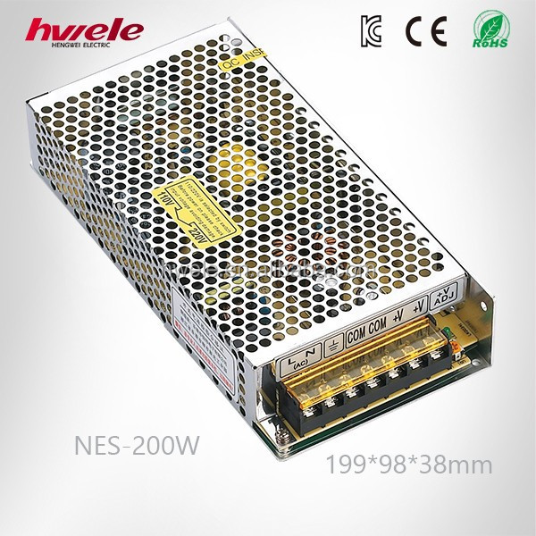 200W 48V switching power supply with high efficieny