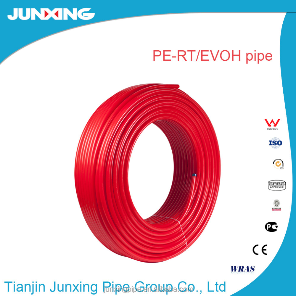 3 layers pe-rt/evoh composite pipe for Russian market