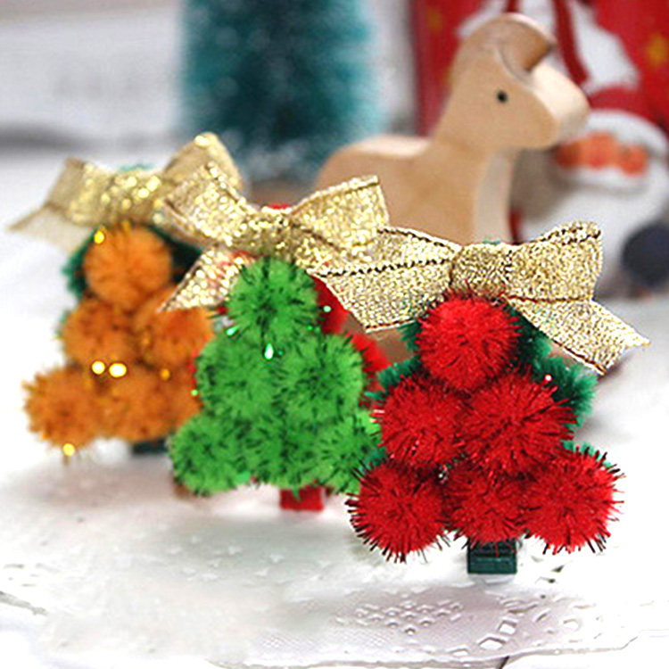 Excellent Glitter Christmas Decorations Balls For Craft