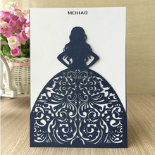 wedding decoration Invitation Card bridal shower card Qj-69