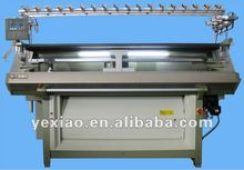 flat knitting machine for sweater, collar