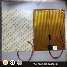 9 v 12 v 24 v 36 v Fleksibel 3D Printer Kapton Film Pemanas