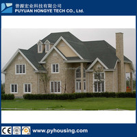 2016 New House Hot Selling Prefab Homes Luxury Housing Movable Modular Light Steel Villa