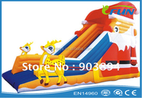 christmas inflatable snowzilla slide for sale / snowzilla inflatable toboggan slide / inflatable snowzilla slide for winter
