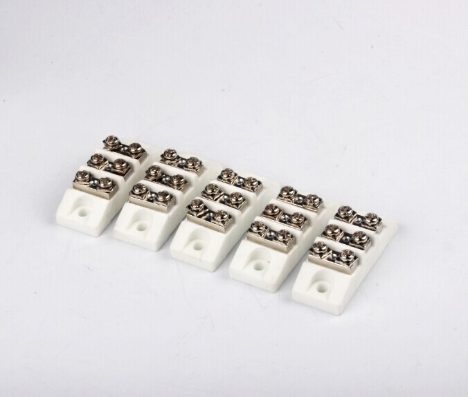Ceramic Terminal Block Connector Heat Resistant Ceramic