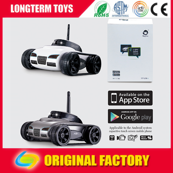Remote control Wifi Spy tank with camera