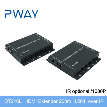 H.264 HD HDMI Extender 200M over TCP/IP by cat5e/cat6