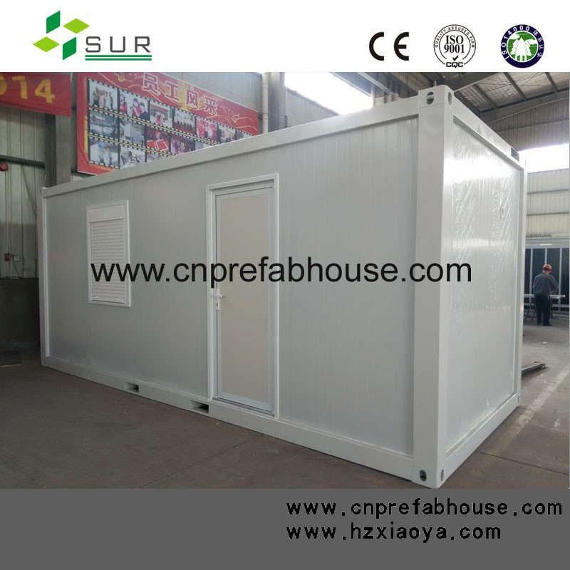galvanized steel structure prefabricated container homes for family living and office