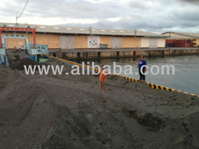 Black Construction Sand