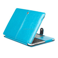 "Air 13"" Leather Case, Magnetic Flip PU Leather Tablet Protective Cover For Apple Macbook Air 13.3"" A1369 A1466 Laptop full Bag"