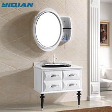 Hangzhou modern free standing design pvc bathroom cabinet & furniture & vanity
