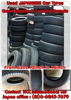 GOOD QUALITY JAPANESE USED TYRES