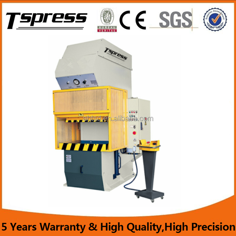 CNC Cylinder C Frame Hydraulic Press 100t , Hydraulic Press C Frame For Pressing / Stretching