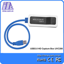 One channel HDMI HD video Capture UVC200 USB to HDMI Capture Dongle with Driver Free