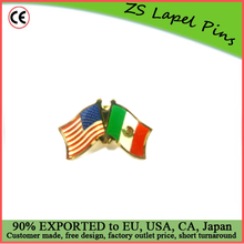 Custom top quality hot gift product Mexico and USA Lapel Pin