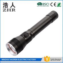 CE,RoHS Certification And Aluminum Lamp Body Material 3 T6 LED Flashlight Torch With Extension Tube