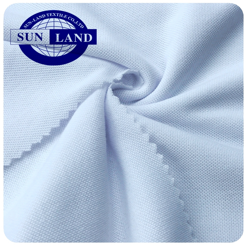 Hot sale 100% cotton pique fabric for polo shirts