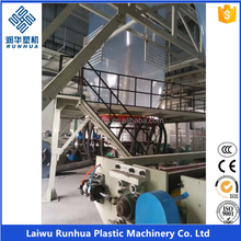 200 microns 3 layer coextrusion pe greenhouse film machine