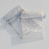 4x6 inch sheer organza drawstring pouches gift bags