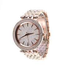 2018 Hot Sale Quartz Watch Lady Wrist Stainless Steel Watches For Women 3399