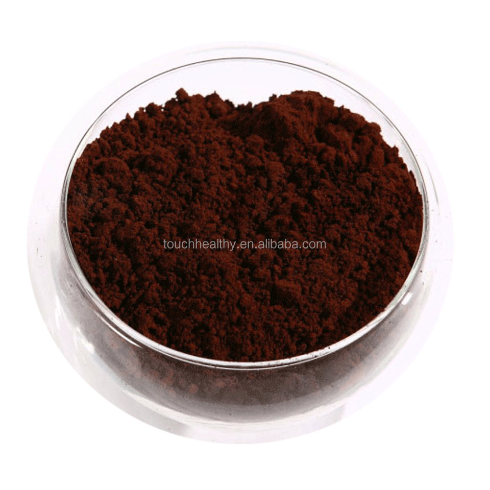Touchhealthy supply Black Bean Hull Extract,Black Bean Hull Powder, Black Soybean shell P.E.anthocyanidin