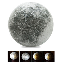 LED Wall Moon light With Remote Control, Realistic Moon Lamp Relaxing Healing ,Super Moon Night Light for Art Room