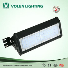 Industrial ceiling lighting 100w 150w 200w led linear high bay light
