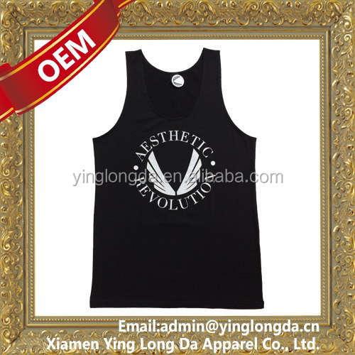 Excellent quality stylish 95% cotton 5% spandex tank top