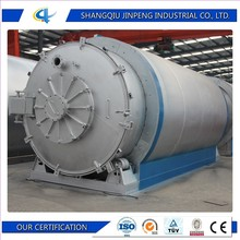 JINYUAN Waste Tyre Recycling Machine / Scrap Plastic to Fuel Oil Pyrolysis Plant