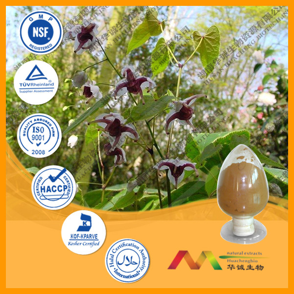 high quality Natural Epimedium Leaf Extract