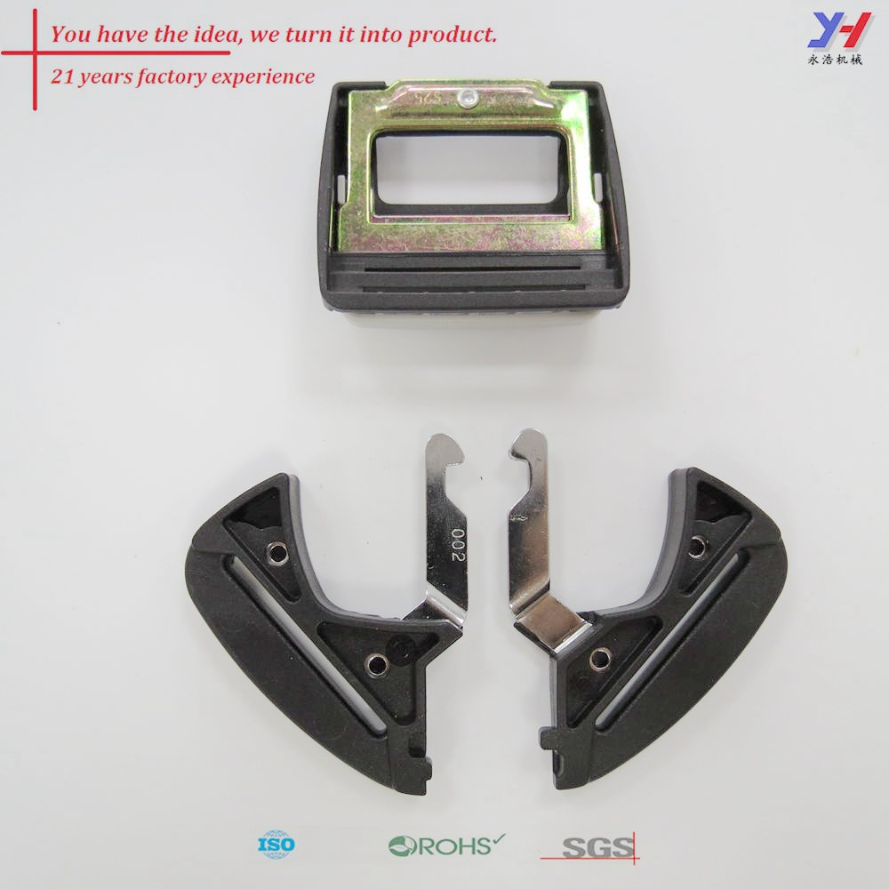 custom fabrication of car safety belts buckle,mini seat belt buckle,double buckle seat belt