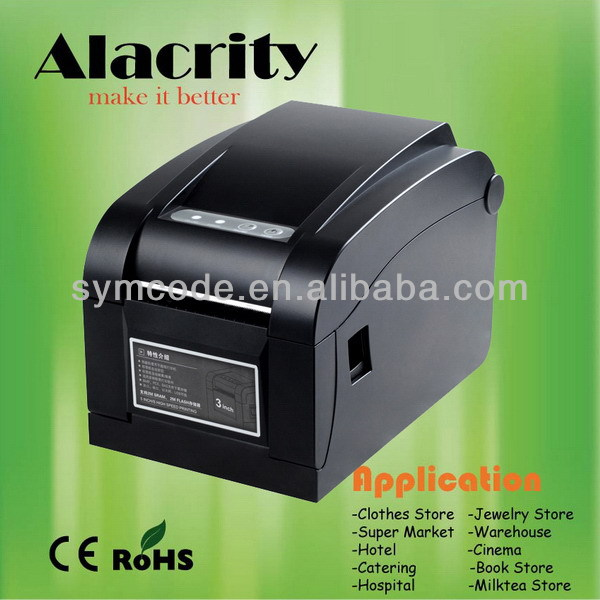 High quality customized tsc barcode printer