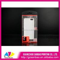 Factory price OEM clear plastic phone case, excellent quality assurance PVC packaging box