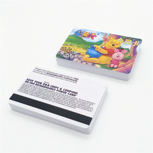 125KHZ contactless smart card CR80 blank pvc rfid cwith chip