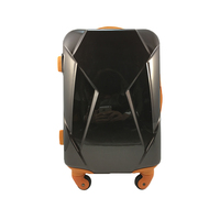 Unique Hard Shell Wheeled Travel Suitcase