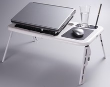 Patented EZlife Etable Laptop Table Foldable and Adjustable in Ergonomic Design with Factory Cheap Price
