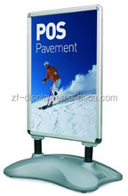 A1 advertising board/plastic poster board/rolled poster board