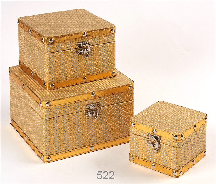Wooden Jewelry Box Wholesale Decorative Gift Boxes Storage