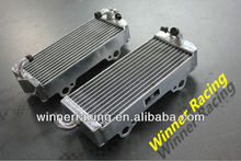 Hi-perf. L&R alloy aluminum radiator for Gas Gas SM/EC/FSR/FSE 400cc Enduro bike 2002-2004