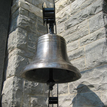 antique fengshui metal craft bronze church bell for sale