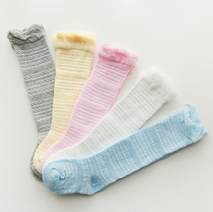 Baby Toddlers Girl stockings knee high baby socks size 0-4years