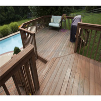 High-level anti-uv waterproof outdoor wood plastic composite decking