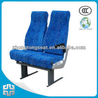 Zhongtong mini bus seat ZTZY3070/blue seat/doule seats/used bus seat
