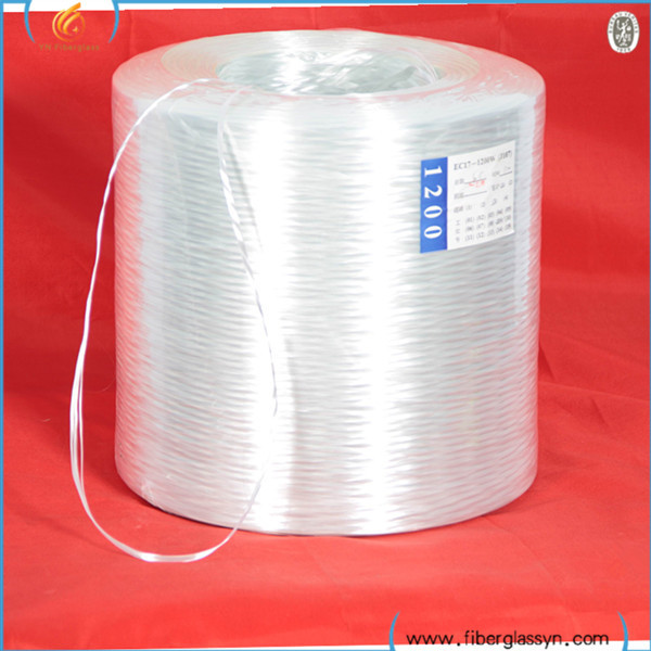 High Quality Fiber Glass Direct Roving TEX 1200 / TEX 2400 / TEX 4800 for Filament Winding