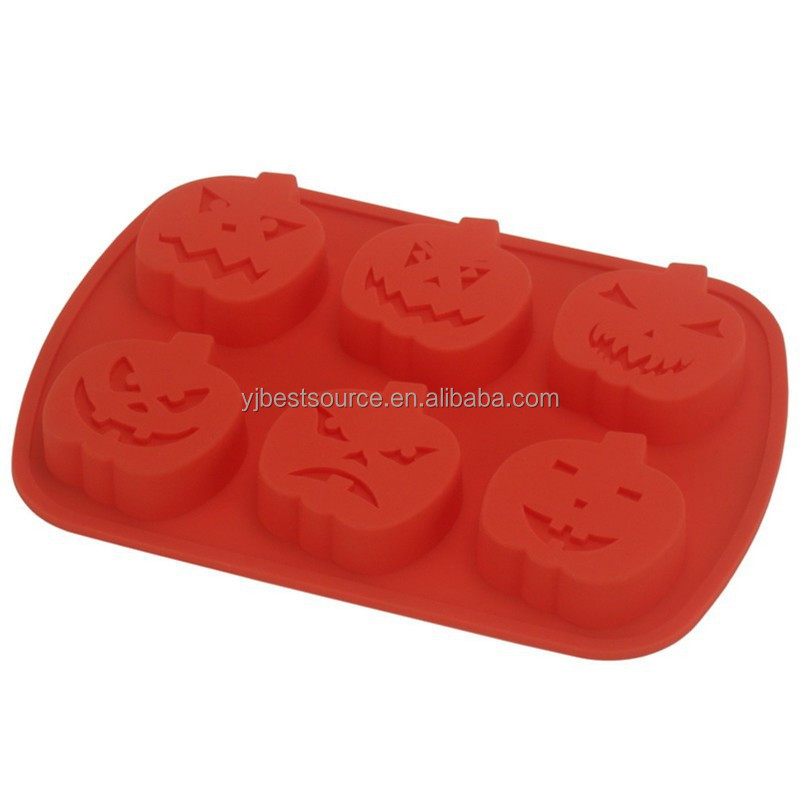 Hot selling Romantic Pumpkin Silicone Cake Mold Baking Mold for Christmas